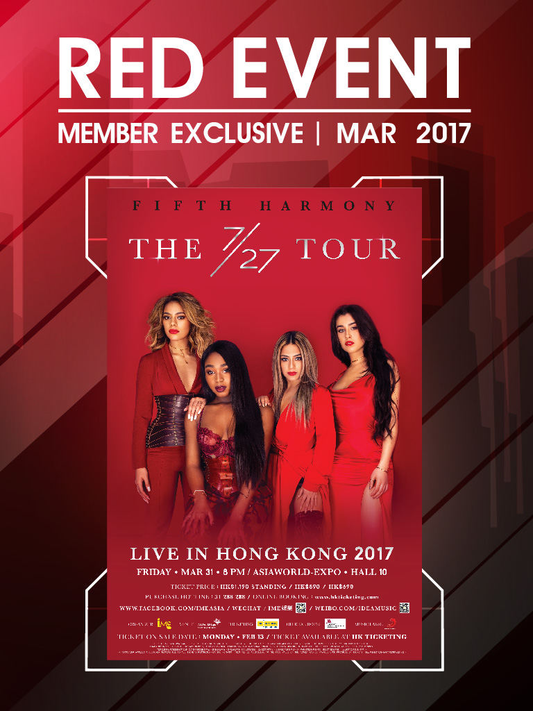 Fifth Harmony The 7/27 TOUR Live In Hong Kong 2017