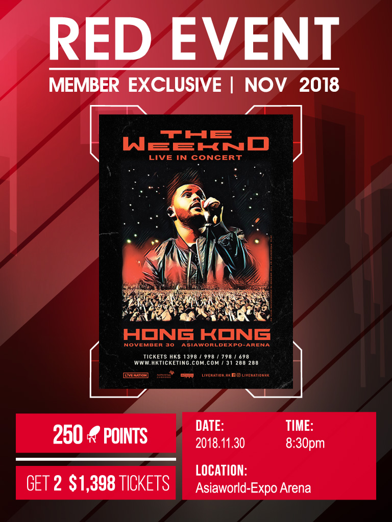 The Weeknd Asia Tour Live in Hong Kong 2018